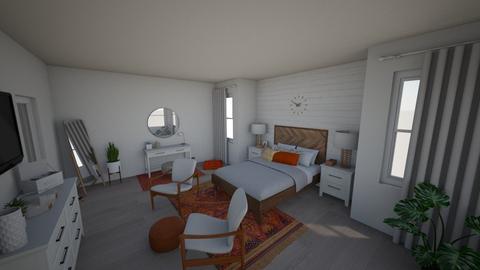 boho minimalist - Minimal - Bedroom  - by peytonalexis