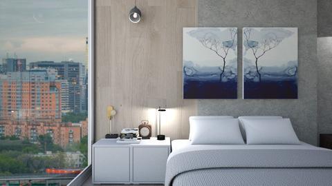 Short Rental Option II - Minimal - Bedroom  - by zabarra