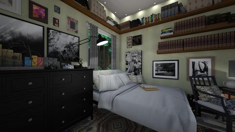 Maxim Bedroom - Bedroom - by ElleP