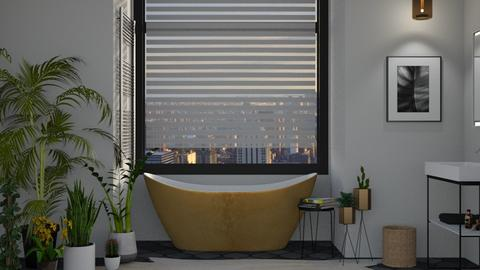 Urban Jungle Bathroom - Bathroom - by AmyDeRochie