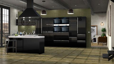 WH Kitchen - Kitchen  - by GraceKathryn