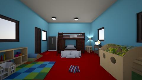 Modern Kids Room - Modern - Kids room  - by dylan64553