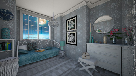 M_ Good Night - Eclectic - Bedroom  - by milyca8