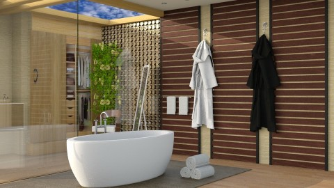 Enjoy - Modern - Bathroom  - by thefairysknight