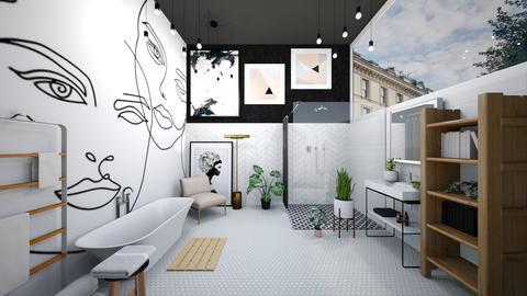 faces - Minimal - Bathroom - by SueandEs