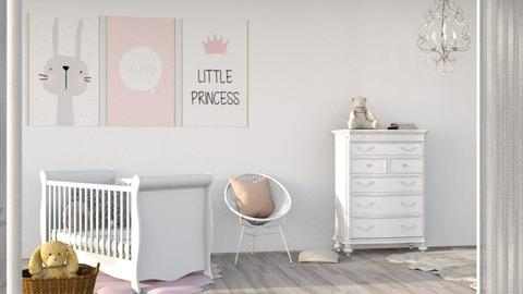 Baby girl - Minimal - Kids room  - by its lia