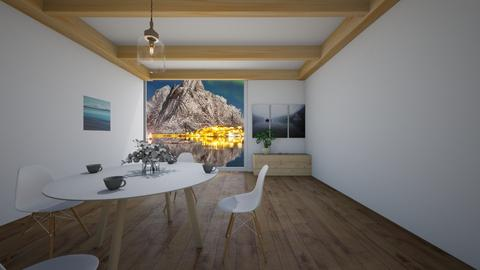 Scandinavian dining room - Dining room  - by NGU0008