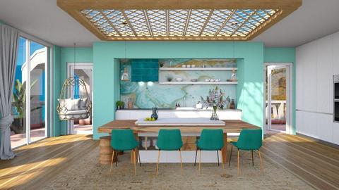 oceanic kich - Kitchen  - by soralobo