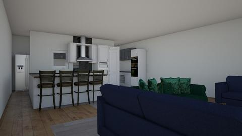 kitchen 2 - by Chix Ovenden
