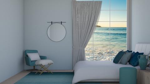 Beach Waves - Bedroom  - by IcyRosyRake2
