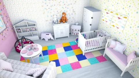 PROJEKT KAMILA PINDEL - Modern - Kids room  - by pindelkamila20