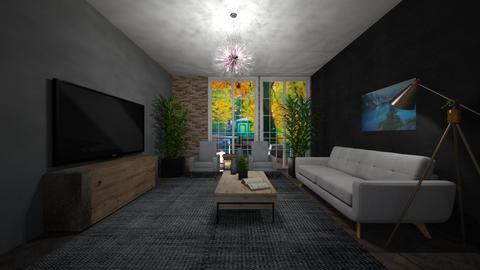 Living Room 4 - Living room  - by Tanem Kutlu