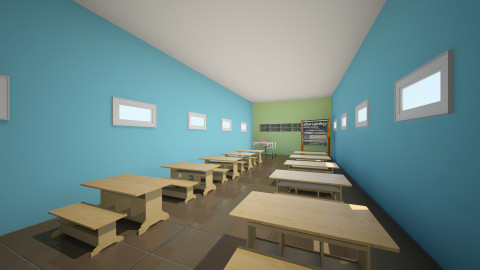 salon  de ingles - Modern - Office - by ASU ARQUITECTURA