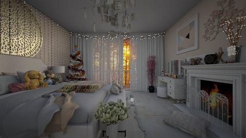 winter - Bedroom - by Dashka0709