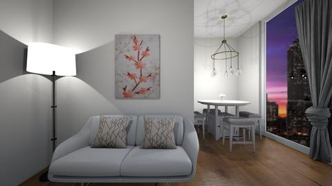City View - Modern - Living room  - by Pirategirl