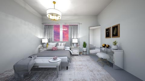 Future room xx - Glamour - Bedroom  - by Blessing Home Designer