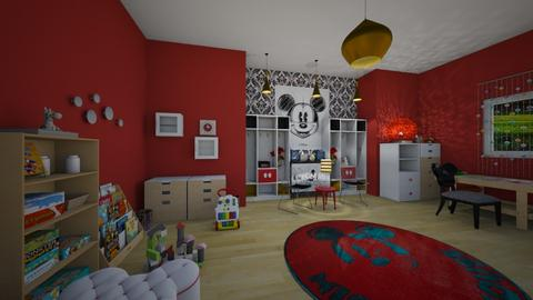 mickey playroom - by dwoods