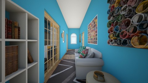 Living room of house one - Living room - by sillylily1705