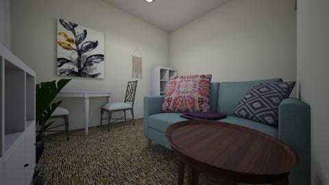 Bridge Meadows - Living room  - by Kirstin Reay