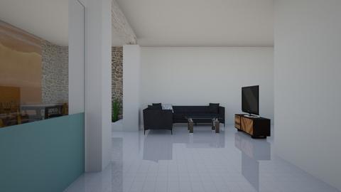 casa 2 - Living room  - by leo salas