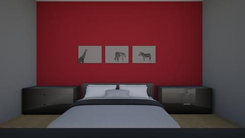 3A  Khalil teens room  - Modern - Kids room  - by shayden