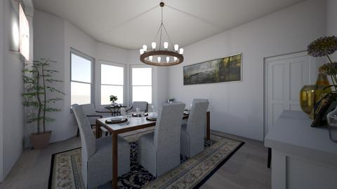 Unit 3 project - Dining room - by ElianeInteriors
