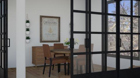 industrial dining room  - Dining room  - by madaline