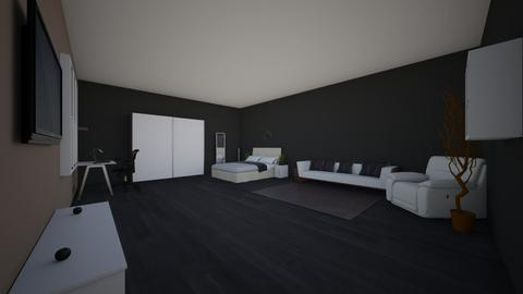 sihams bedroom - Modern - Bedroom  - by amraxaj