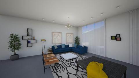 1283 - Modern - Living room  - by oritchen