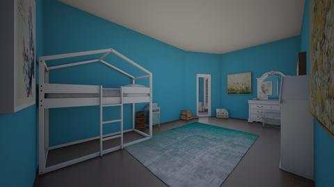 blue room - Kids room  - by MadelynWitt