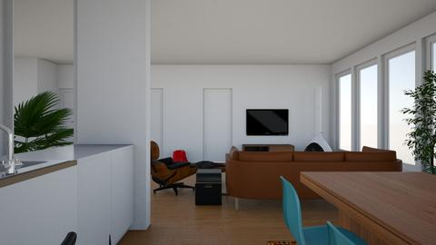 new living room 9 - Living room  - by deathrowdave