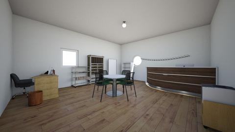 design challenge 8  - Minimal - Office  - by Ariannna