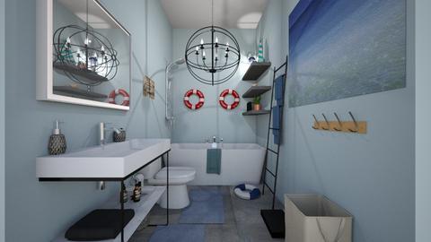 Mimis Bathroom Renovation - Modern - Bathroom - by cbruno23