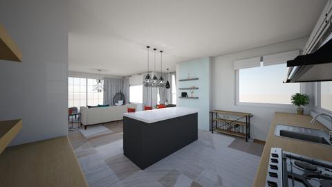 1st Floor - Living room - by SIMONA_PT