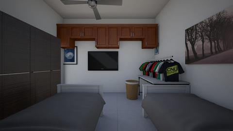 habitacion - Modern - Bedroom - by tirrex48