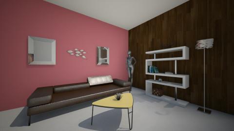 armonia de complementario - Retro - Living room  - by sofiaeli