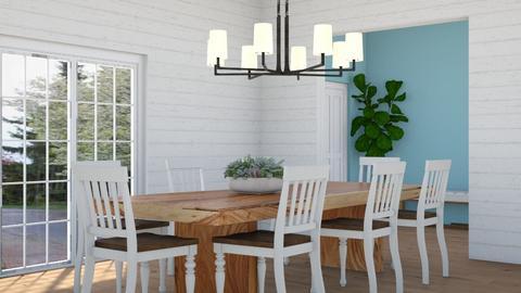 Clean Dinning - Modern - by KierraClumdesign