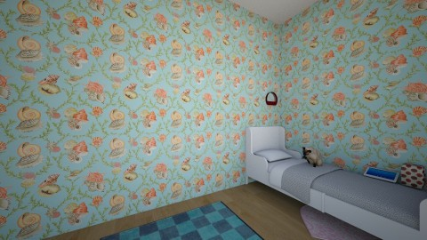 modern with a mix kids  - Classic - Kids room  - by spymom473