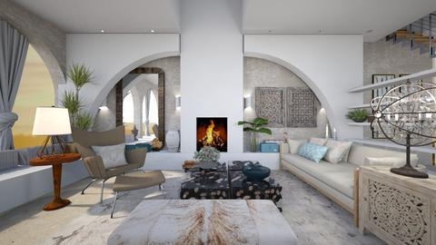 greek - Living room  - by ana111