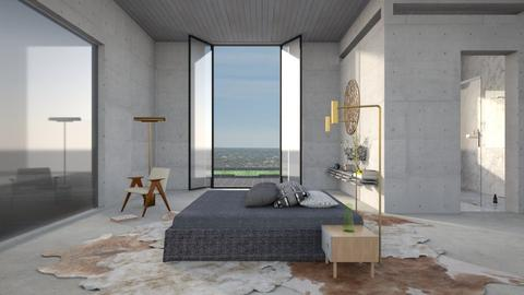 master bedroom  - Modern - Bedroom  - by kitty