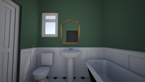 Blackshear Victorian - Vintage - Bathroom - by Roomandrose