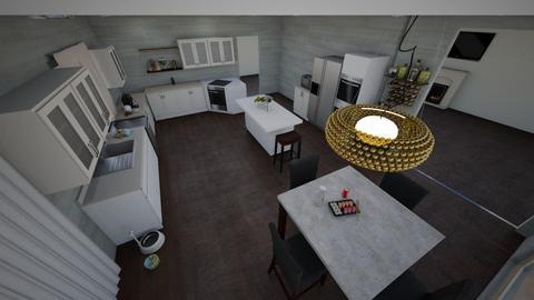 Brendan Urie Kitchen  - Kitchen - by Gab71892