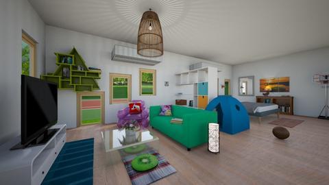 MoDeRn PlAyFuL LiViNg - Modern - Living room - by New York Mets