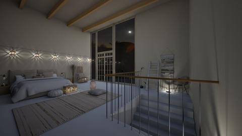 hollywood home - Bedroom  - by hannahvondrachek
