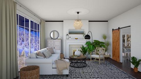 winter room - Living room - by nuray kalkan