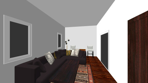 Living w/sectional - Rustic - by eamber711