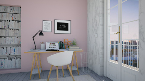 Marble Life - Feminine - Office  - by Maria Esteves de Oliveira
