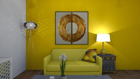 bee room - Living room  - by sunnflowergirl