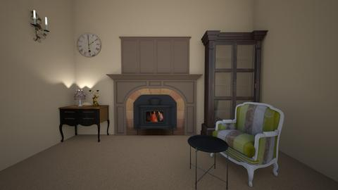 French Style - Retro - Living room  - by tathianhduong2009