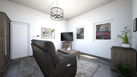 Neutral Living Room - Living room  - by Emmachiavelique